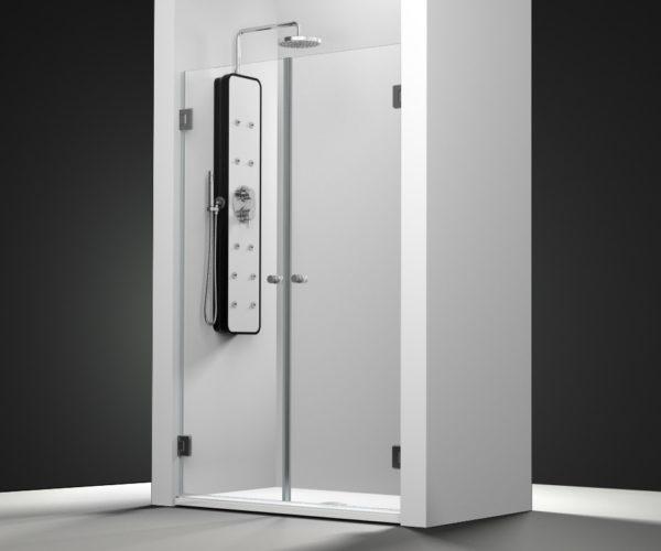 Mampara de ducha y bañera a medida Esbath EXF212IR