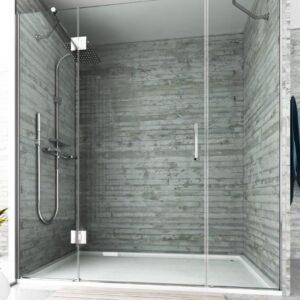Mampara de ducha y bañera a medida Esbath EXF213IR