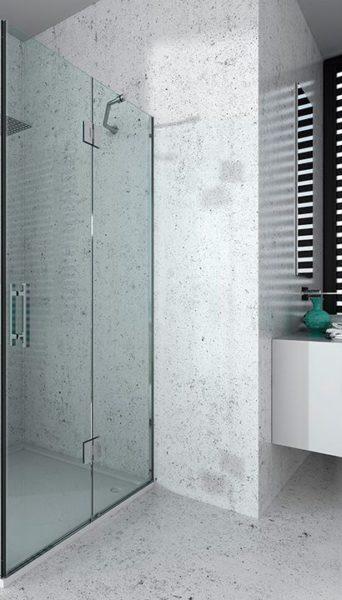 Mampara de ducha y bañera a medida Esbath EXF216IR