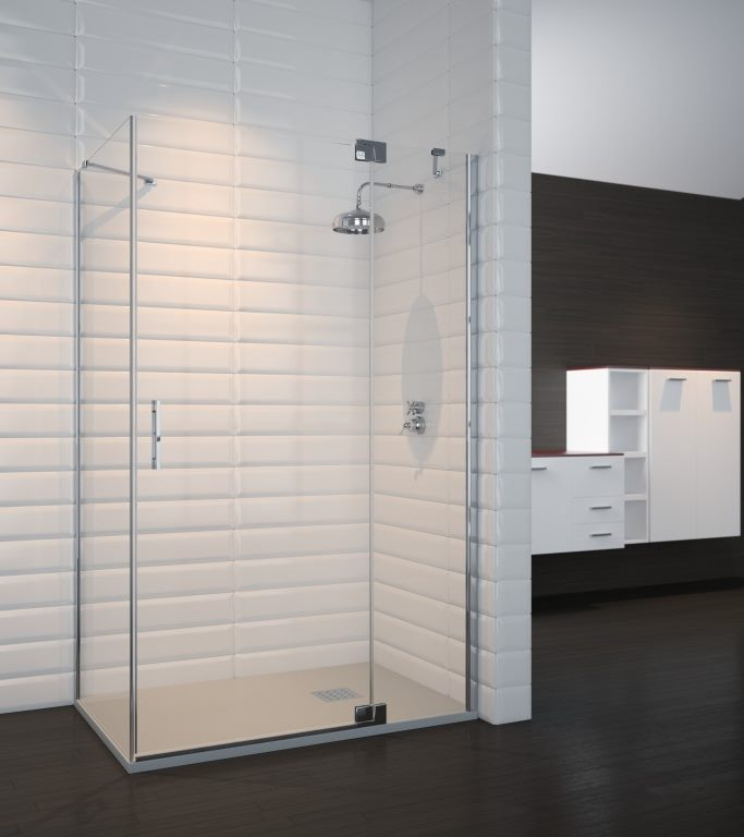 Mampara de ducha y bañera a medida Esbath EXF217BG
