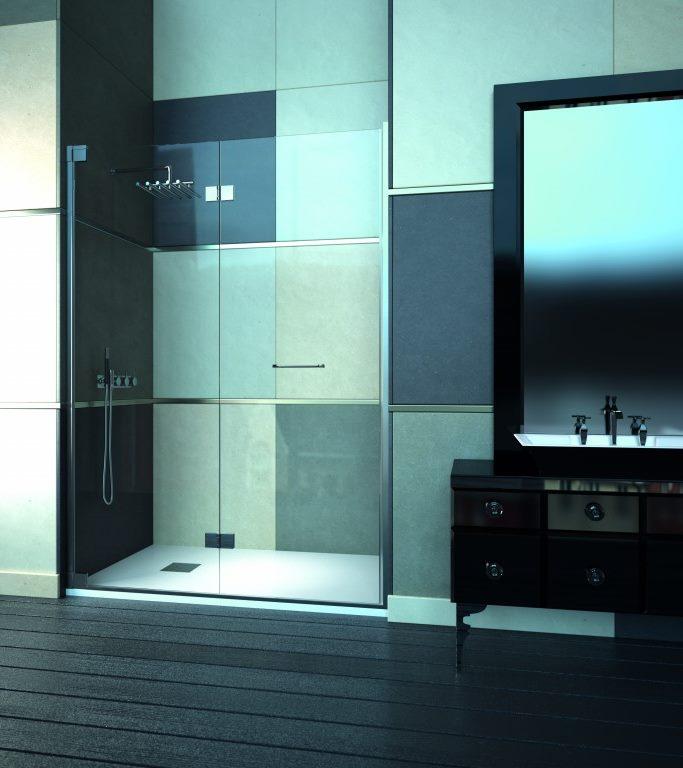 Mampara de ducha y bañera a medida Esbath EXF218BG