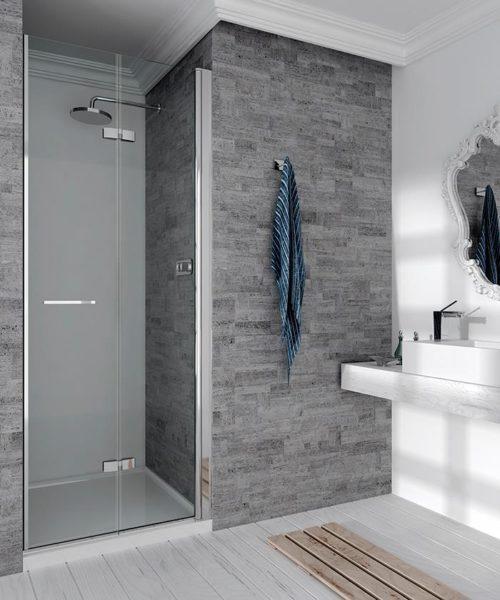 Mampara de ducha y bañera a medida Esbath EXF218PF