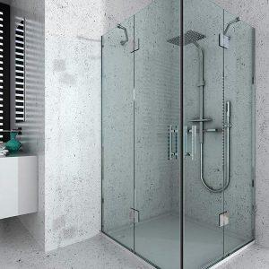 Mampara de ducha y bañera a medida Esbath EXF220IR