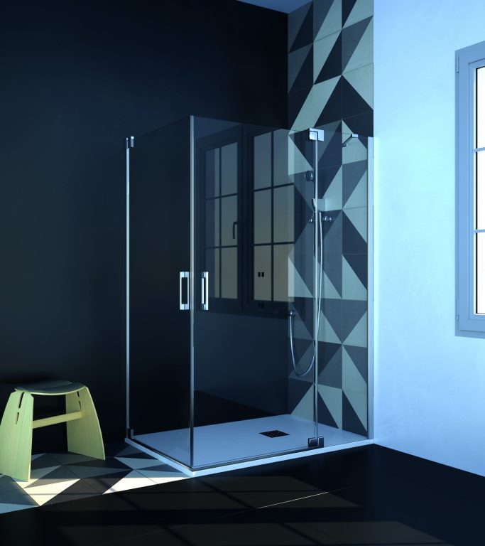 Mampara de ducha y bañera a medida Esbath EXF221BG