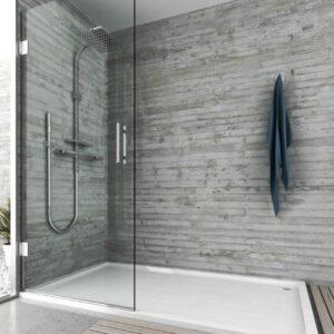 Mampara de ducha y bañera a medida Esbath EXF230IR