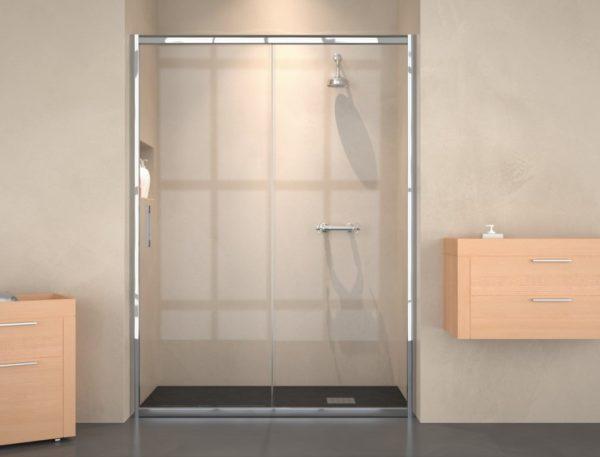 Mampara de ducha y bañera a medida Esbath EXS210BA
