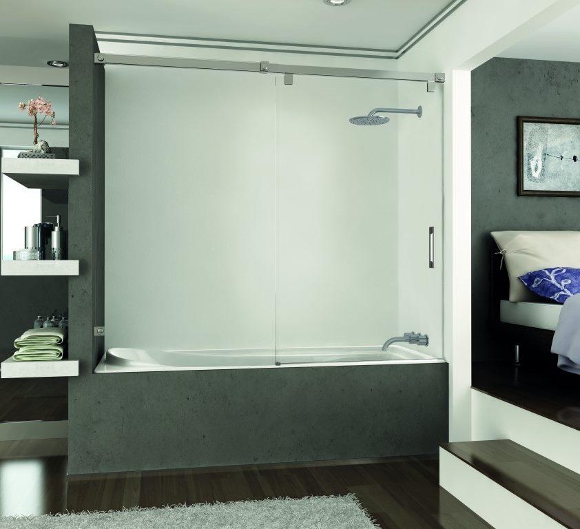 Mampara de ducha y bañera a medida Esbath EXS210D1