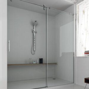 Mampara de ducha y bañera a medida Esbath EXS210IR