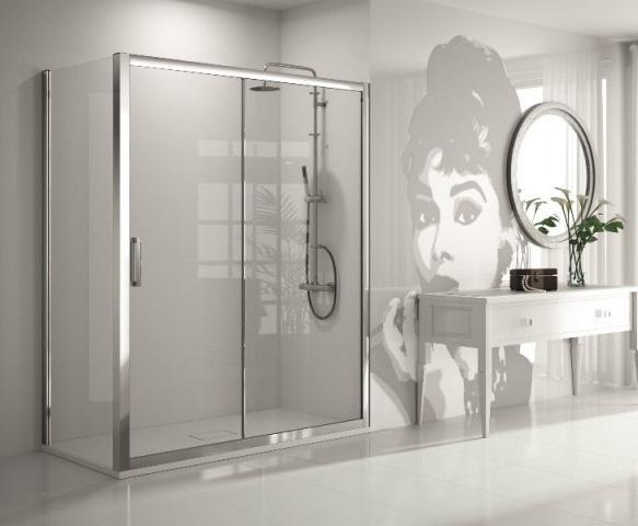 Mampara de ducha y bañera a medida Esbath EXS211BA