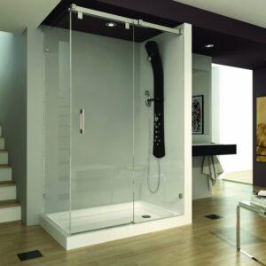Mampara de ducha y bañera a medida Esbath EXS211D1