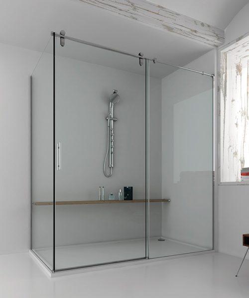Mampara de ducha y bañera a medida Esbath EXS211IR