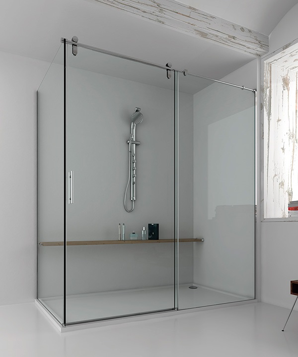 La tienda de la mampara exs211ir mampara ducha for Mampara ducha sin perfil
