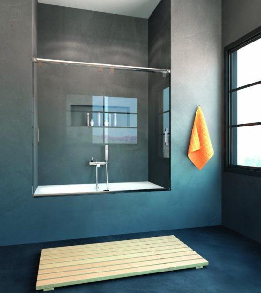 Mampara de ducha y bañera a medida Esbath EXS212BA