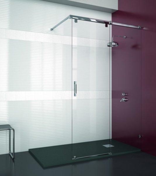 Mampara de ducha y bañera a medida Esbath EXS215D1
