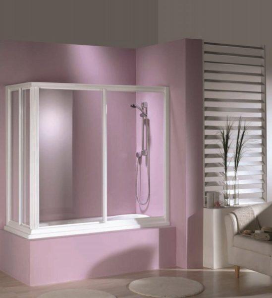 Mampara de ducha y bañera a medida Esbath EXS220AM
