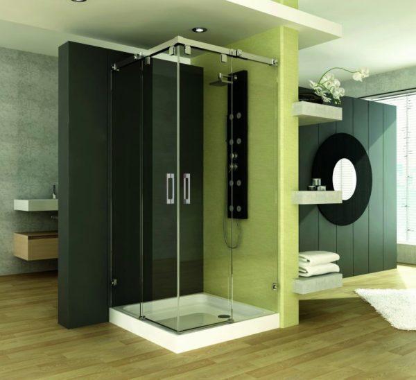 Mampara de ducha y bañera a medida Esbath EXS220D1