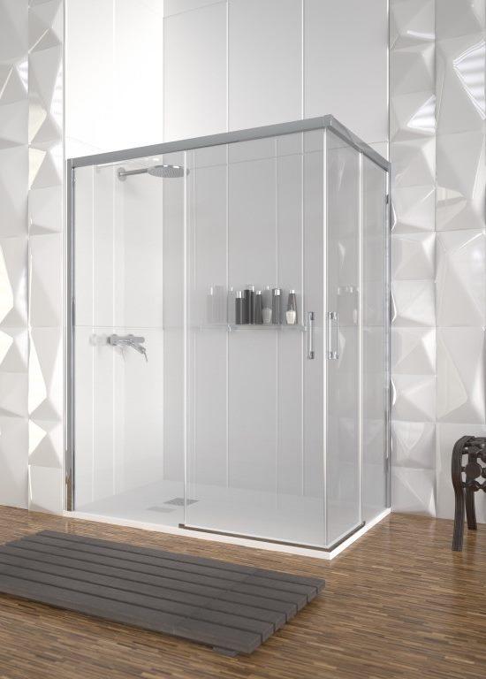Mampara de ducha y bañera a medida Esbath EXS220EA