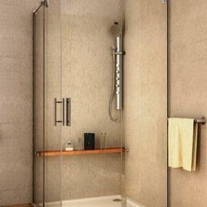 Mampara de ducha y bañera a medida Esbath EXS220IR