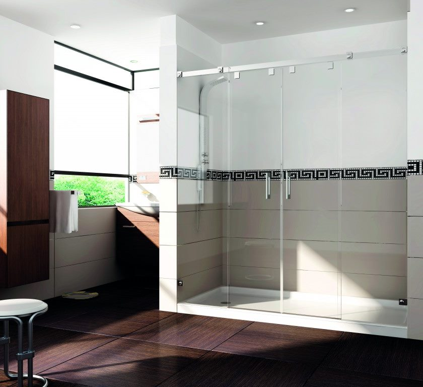 Mampara de ducha y bañera a medida Esbath EXS225D1