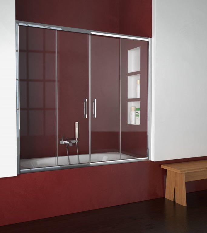 Mampara de ducha y bañera a medida Esbath EXS225BA