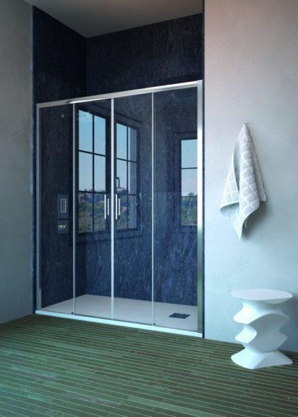 Mampara de ducha y bañera a medida Esbath EXS225EA