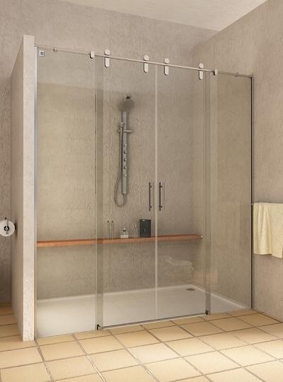 Mampara de ducha y bañera a medida Esbath EXS225IR