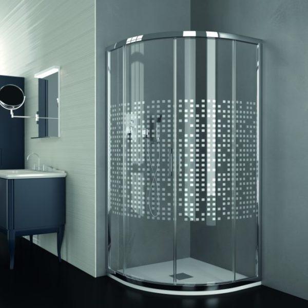 Mampara de ducha y bañera a medida Esbath EXS260BA