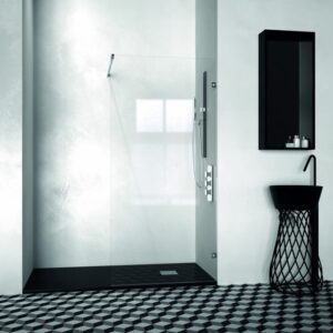 Mampara de ducha y bañera a medida Esbath EXW200BG