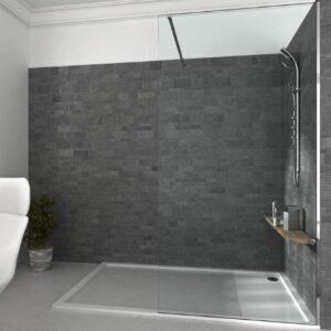 Mampara de ducha y bañera a medida Esbath EXW200IR