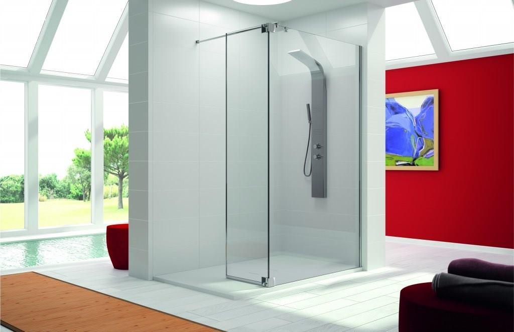 Mampara de ducha y bañera a medida Esbath EXW205BG