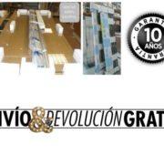 embalaje+envio gratis+garantia 10 años