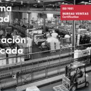 calidad fabricacion certificada 9001