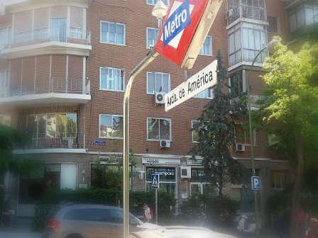 Tienda Madrid-metro avd america