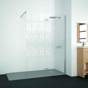 Panel fijo de ducha a medida WALK IN XL